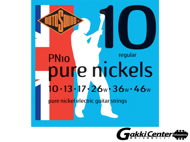 ROTOSOUND PN10 Pure Nickels Regular (.010-.046)