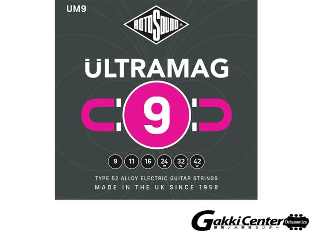 ROTOSOUND UM9 Ultramag Super Light (.009-.042)