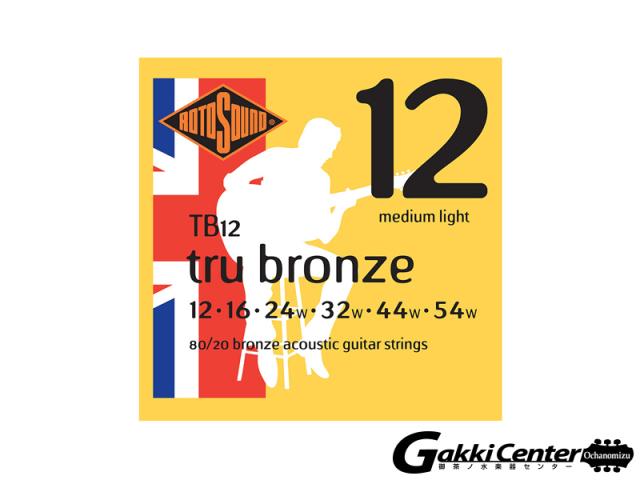 ROTOSOUND TB12 Medium Light (.012-.054)