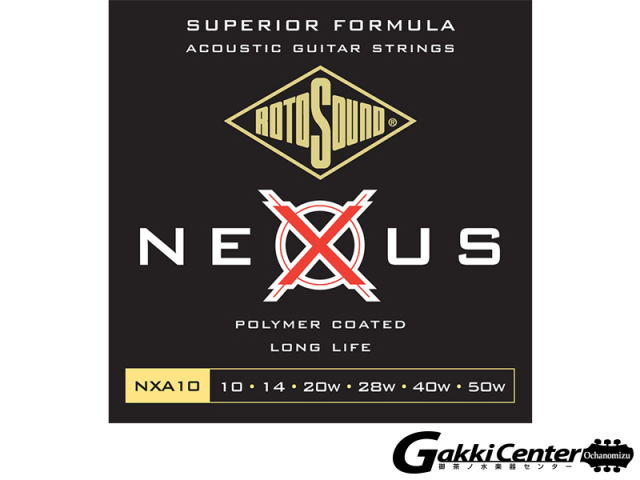 ROTOSOUND Nexus Acoustic NXA10 Extra Light (.010-.050)