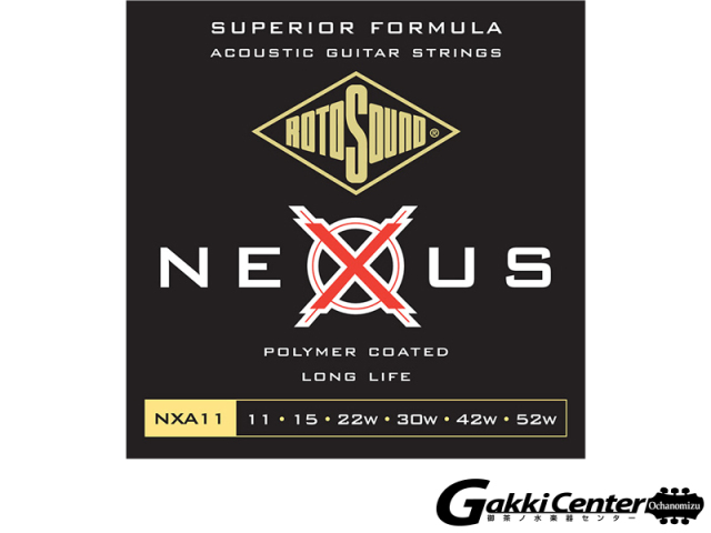 ROTOSOUND Nexus Acoustic NXA11 Light (.011-.052)