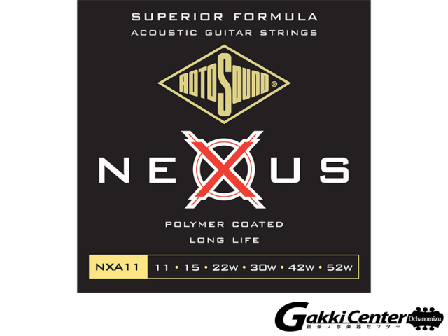ROTOSOUND Nexus Acoustic NXA12 Medium Light (.012-.054)