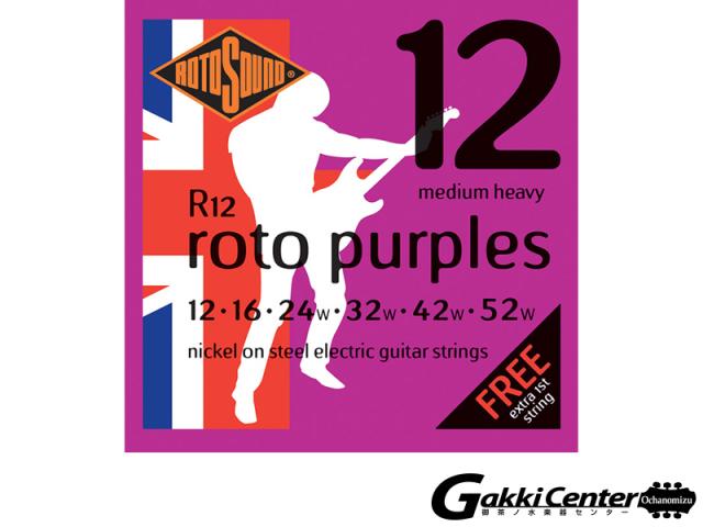 ROTOSOUND R12 Medium Heavy (.012-.052)
