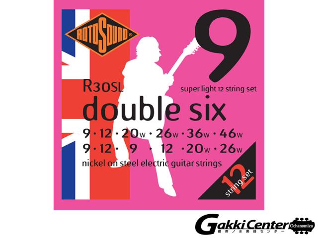ROTOSOUND R30SL Super Light 12 Strings Set (.009-.046)
