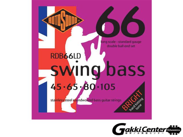 ROTOSOUND Swing Bass 66 RDB66LD Long Scale Standard (.045-.105)(ダブルボールエンド)