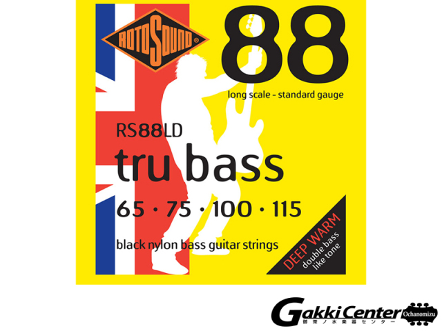ROTOSOUND Tru Bass 88 RS88LD Long Scale Standard (.065-.115)