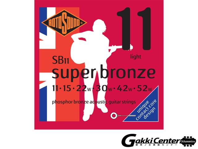 ROTOSOUND Super Bronze SB11 Light (.011-.052)
