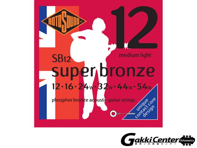 ROTOSOUND Super Bronze SB12 Medium Light (.012-.054)