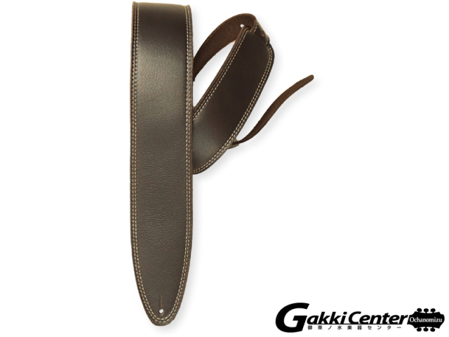 LM Products Luxury Leather Guitar Strap - The Heritage EH-25 Brown