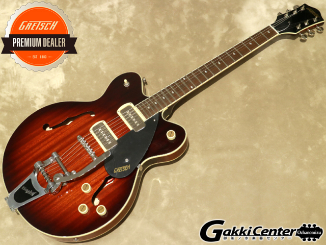 Gretsch G2622T-P90 Streamliner Center Block Double-Cut P90 with Bigsby, Forge Glow【シリアルNo: IS210123060/3.0kg】【店頭在庫品】