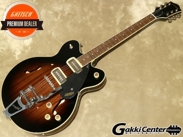 Gretsch G2622T-P90 Streamliner Center Block Double-Cut P90 with Bigsby, Brownstone【シリアルNo: IS210123059/3.0kg】【店頭在庫品】