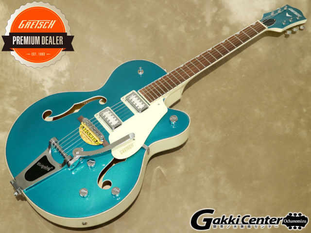 Gretsch G5410T LTD Electromatic Tri-Five Two-Tone Ocean Turquoise/Vintage White 【シリアルNo:KS21034251/3.3kg】【店頭在庫品】
