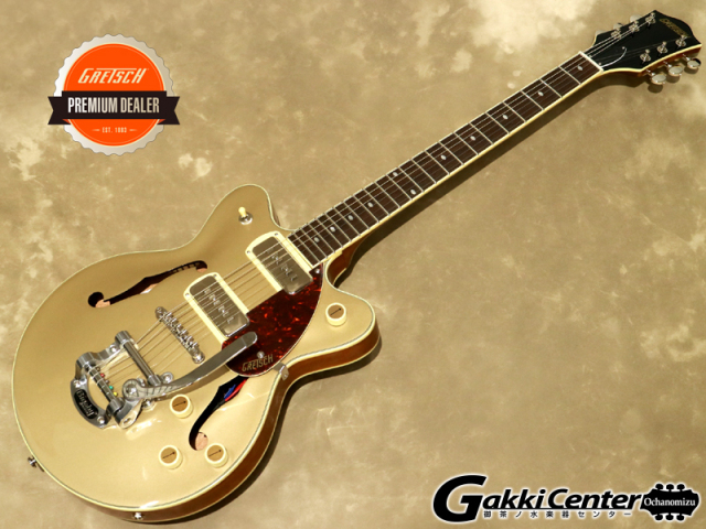 Gretsch G2655T-P90 JR. DOUBLE-CUT P90 WITH BIGSBY,  Two-Tone Sahara Metallic【シリアルNo:IS210223766/2.7kg】【店頭在庫品】