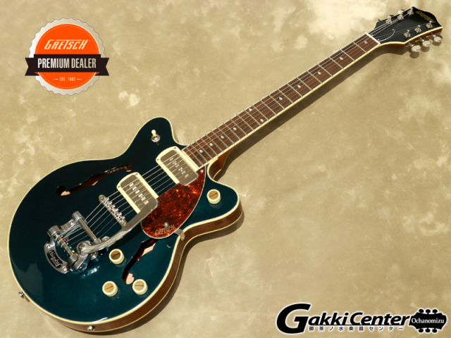 Gretsch G2655T-P90 JR. DOUBLE-CUT P90 WITH BIGSBY,  Two-Tone Midnight Sapphire【シリアルNo:IS210223749/2.7kg】【店頭在庫品】