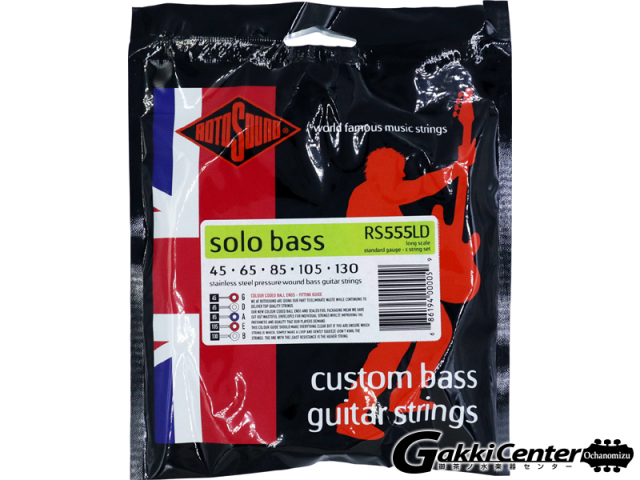 ROTOSOUND RS555LD Linea Pressure Wound 5 String (.045-.130)