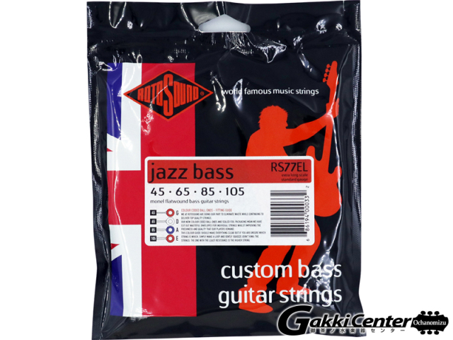 ROTOSOUND RS77EL Monel Flatwound Extra Long (.045-.105)