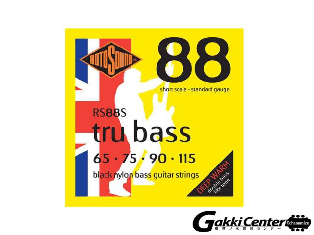 ROTOSOUND RS88S TRU BASS 88 NYLON TAPEWOUND SHORT  (.065-.115)
