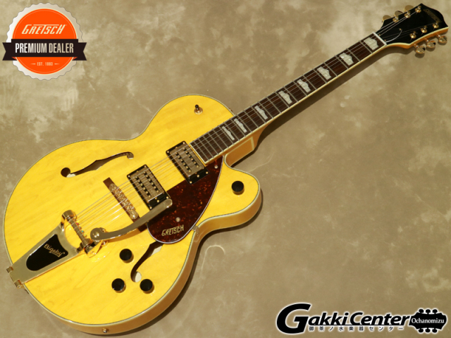 Gretsch G2410TG SINGLE-CUT WITH BIGSBY AND GOLD HARDWARE Village Amber【シリアルNo:IS210223681/3.1kg】【店頭在庫品】