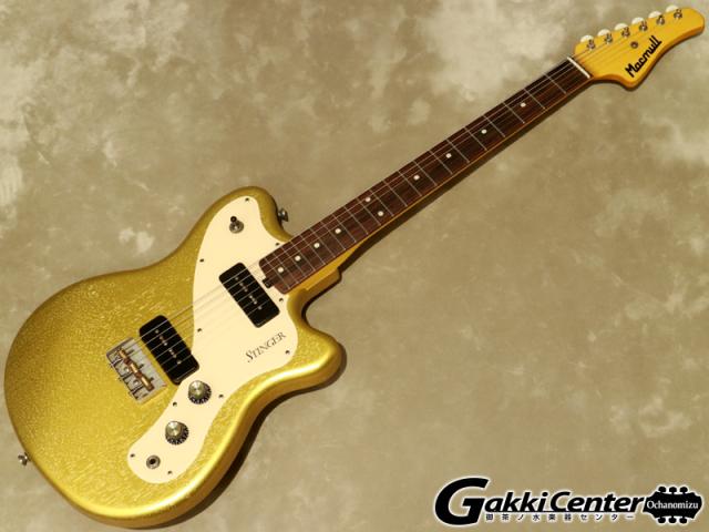 Macmull Custom Guitars Stinger Aztec Gold【シリアルNo: 082106/3.4kg】【店頭在庫品】