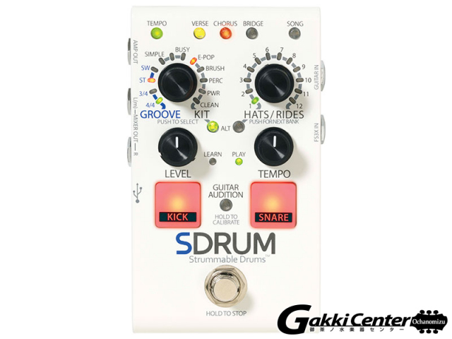 【SALE】DigiTech SDRUM 【店頭在庫品】