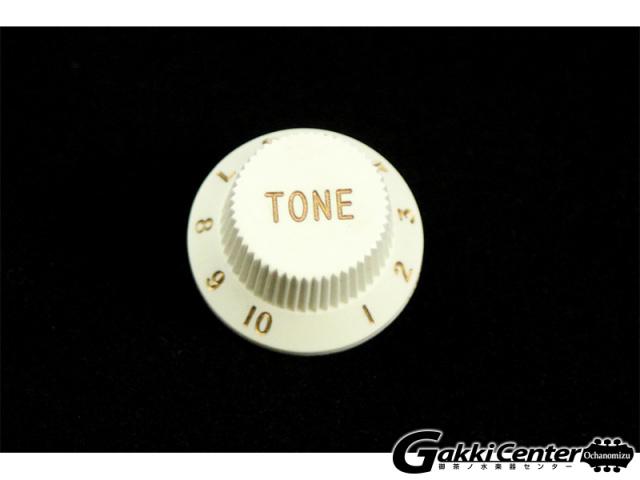 Allparts Set of 2 White Tone Knobs