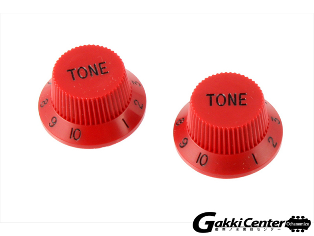 Allparts Set of 2 Red Tone Knobs/5049