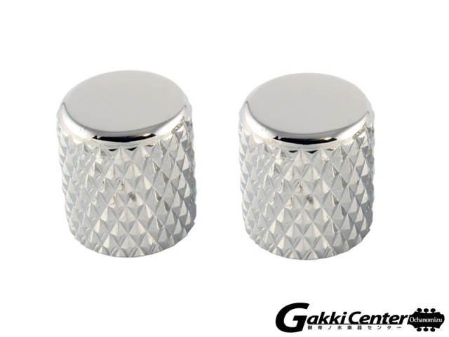 Allparts Chrome Heavy Knurl Barrel Knobs/5066