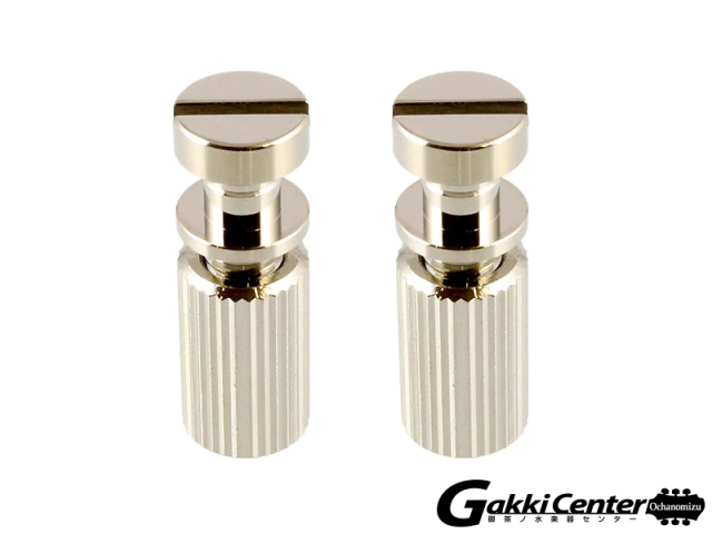 Allparts Nickel Studs and Anchors for Stop Tailpiece/6105