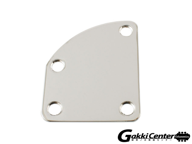 Allparts Curved Chrome Neckplate/6548