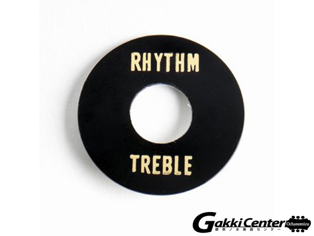 Allparts Black Plastic Rhythm/Treble Ring/6551