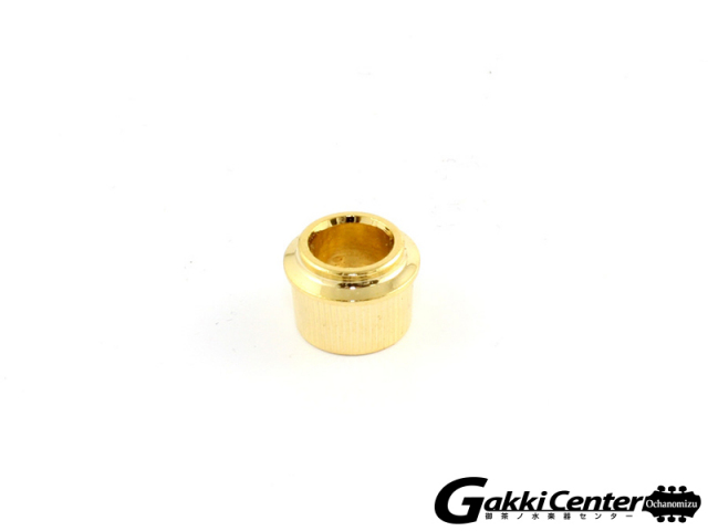 Allparts Pack of 6 Adapter Bushings to .25 Inch Gold/7005