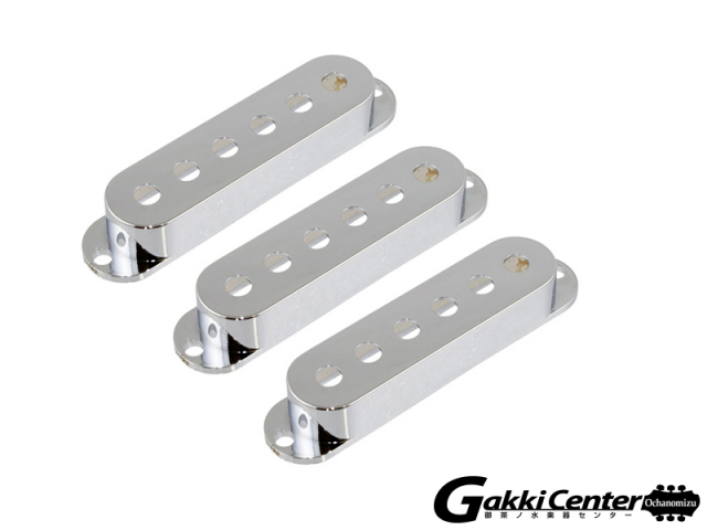 Allparts Set of 3 Chrome Pickup Covers for Stratocaster/8210