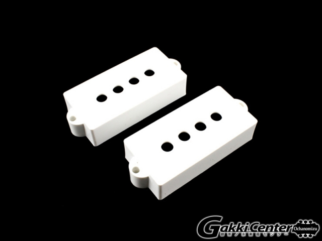 Allparts Pickup covers for Precision Bass White/8234