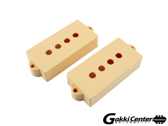 Allparts Pickup covers for Precision Bass Cream/8235