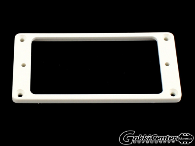 Allparts Humbucking Pickup Rings Flat Slanted White/8243