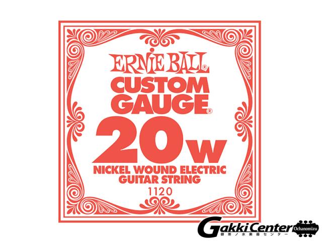 ERNiE BALL SLINKY SINGLE [#1120]【店頭在庫品】