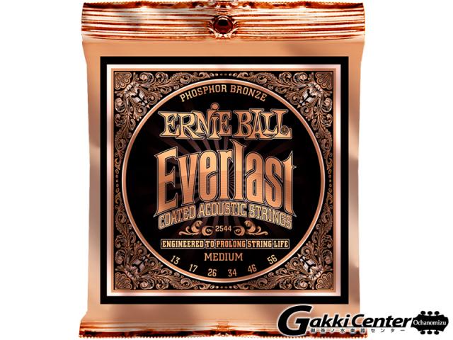 ERNiE BALL Everlast Coated Phosphor Bronze Acoustic Medium  [#2544]