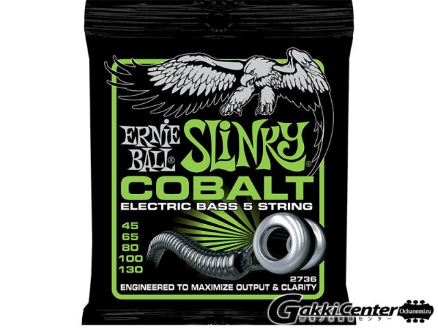 ERNiE BALL COBALT 5-STRING REGULAR SLINKY  BASS [#2736]【店頭在庫品】