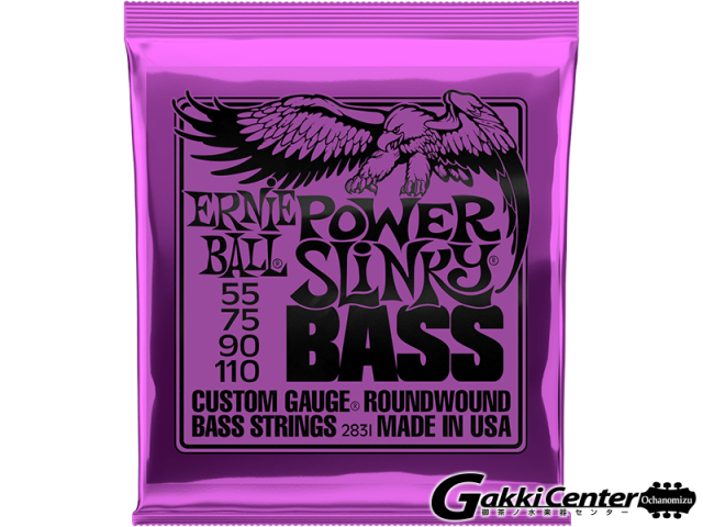 【SALE】ERNiE BALL POWER  SLINKY  BASS [#2831]【店頭在庫品】