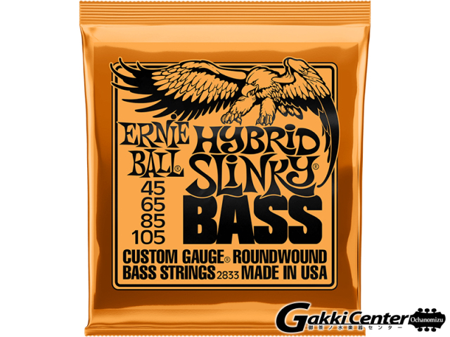 【SALE】ERNiE BALL HYBRID SLINKY  BASS [#2833]【店頭在庫品】