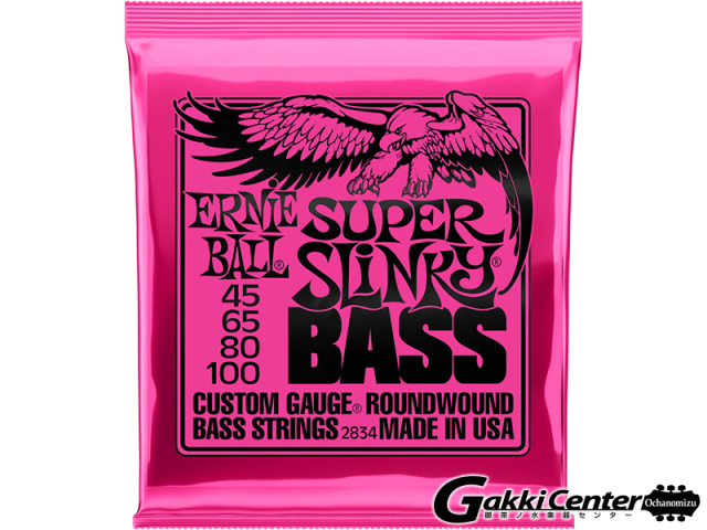 【クロネコDM便送料無料キャンペーン開催中】ERNiE BALL SUPER SLINKY  BASS [#2834]【店頭在庫品】