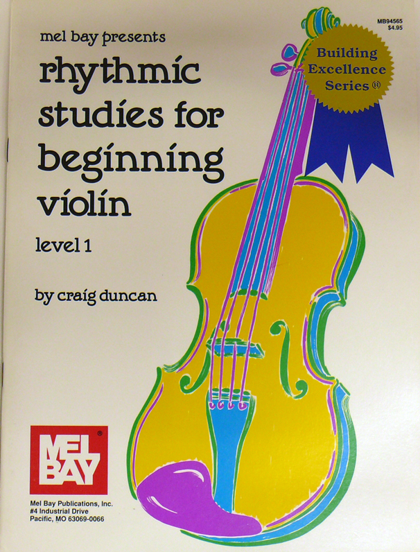 Rhytmic Studies for Beginning Violin