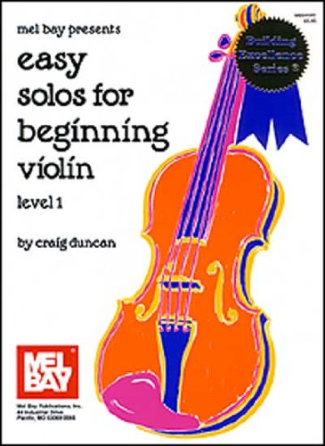 Easy Solos for Beginning Violin