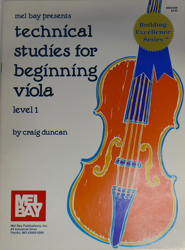 Technical Studies for Beginning Viola