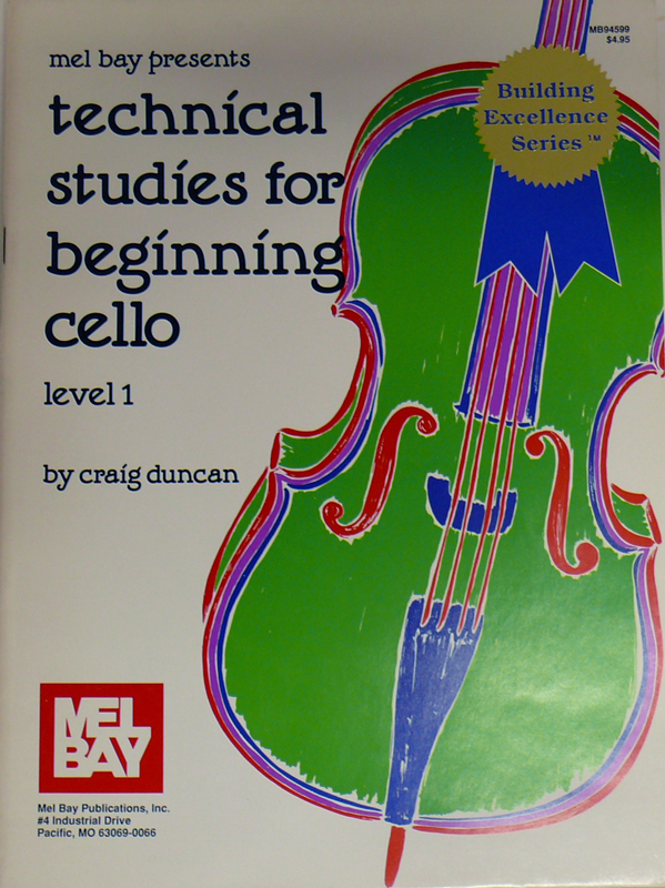 Technical Studies for Beginning Cello