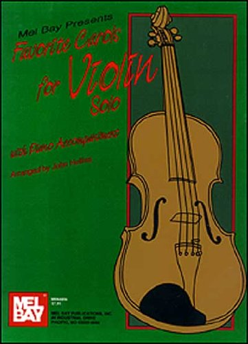 Favorite Carols for Violin Solo