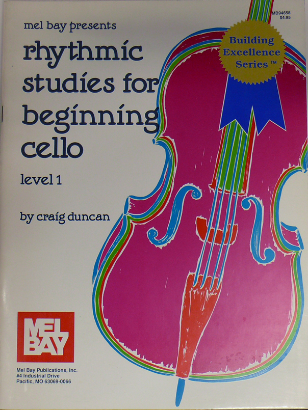 Rhytmic Studies for Beginning Cello