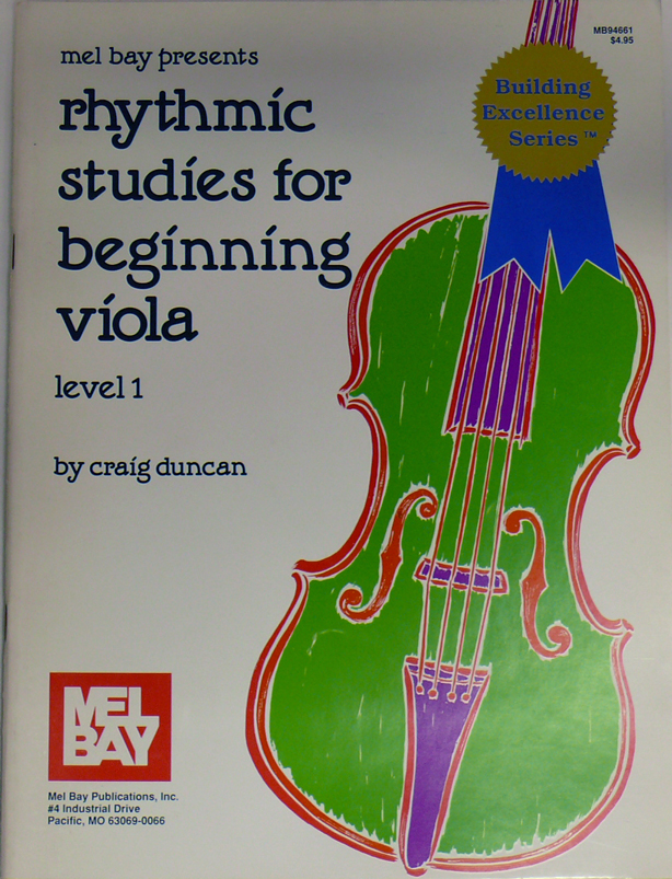 Rhytmic Studies for Beginning Viola