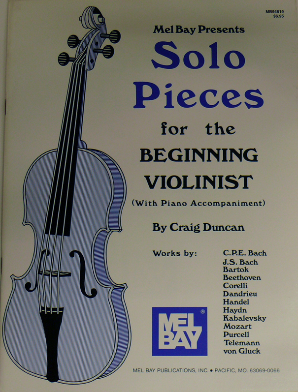 Solo Pieces for Biginning Violinist