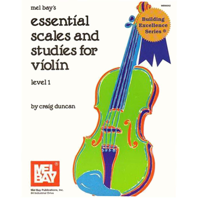Essential Scales & Studies for Violin